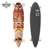 [DUSTERS] 37 MOTO NATIVE PINTAIL LONGBOARD