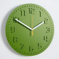 모던 칼라 저소음 벽시계 (그린) 벽 시계 디자인 추카