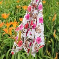 손수건 - 쁘띠스카프 (꽃길만 가)