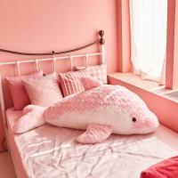 이젠돌스 돌고래 인형 스네일돌핀 핑크 왕 115CM