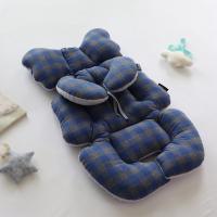 멜란체크 극세사 유모차라이너+목쿠션set (블루)