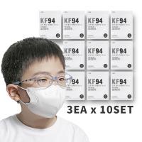 초미세먼지차단 4단필터 KF94어린이마스크 3매x10세트