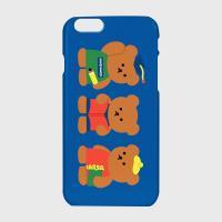 Smart bear friends-blue