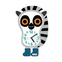 니노타임 아크릴 벽시계여우원숭이 (대) NTMA-110