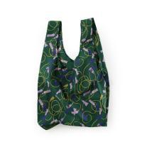 [바쿠백] 휴대용 장바구니 시장가방 Green Tassel
