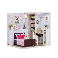 [adico]DIY 미니어처 코지 하우스 - 침실