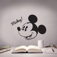 디즈니 키덜트 빅미키M 현대시트 그래픽 스티커