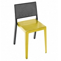 ABChair Yellow / Aluminium