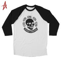[Altamont] DEATH ROSE RAGLAN 3/4 KNIT (Bone)