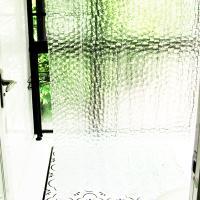 반투명 욕실 방수 가림막 가리개 샤워커튼 180 x180cm