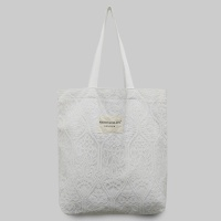 MARIE GILLAIN LEUVEN(루벤) LACE ECO BAG WHITE