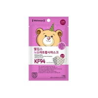 [재입고] 웰킵스 뉴 스마트 황사마스크 초소형 KF94 1장