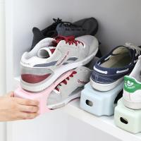 좁은현관 공간활용 신발 수납정리 홀더 파스텔 슈즈랙