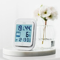 일본 드레텍 초미세먼지 측정온습도계