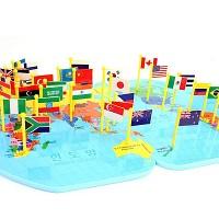38개국깃발만국기한글/36개국+2개국/오류수정업그레이드