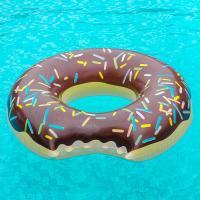 대형 초코 도넛 튜브 (120cm)