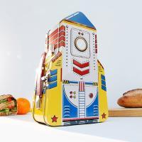 [썩유케이] 로켓 런치박스 도시락통 도시락 가방 (틴케이스)