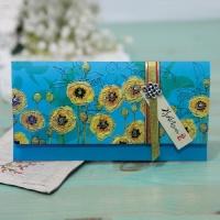 솔채 꽃 용돈봉투 FB210-4