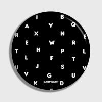 [어프어프] 손거울 Alphabet-black