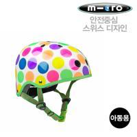 마이크로 킥보드 헬멧 네온도트 M