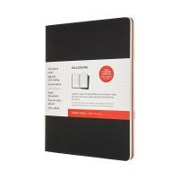 까이에 서브젝트 저널/블랙&크랜베리 레드 XL