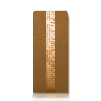 가하 자음모음 금펄 크라프트 가로형 우편봉투