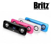 브리츠 휴대용 스피커 BR-2300 CANDY (SD 메모리카드 & 외부입력 AUX단자 / USB충전 / 라디오)