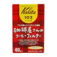 Whatcoffee칼리타 Box 102 필터 백색 40매