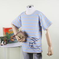 [다이노솔즈] 공룡 전신 그래픽 어린이 반소매 순면 티셔츠 SB