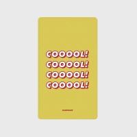 [어프어프] 보조배터리 Cooool-yellow