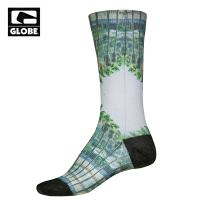 [GLOBE] PRINTED PREMIUM SOCK (PALM SPRINGS)