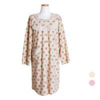 [쿠비카]폴라폴리스 플라워 원피스 여성잠옷 W381