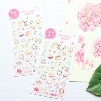 마넷 스티커 - Flower Crwon Rabbit 2(화관토끼 2)