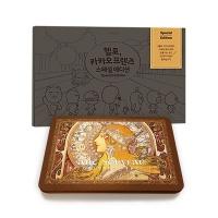 카카오 스페셜 컬러링북+아르누보 50색 틴
