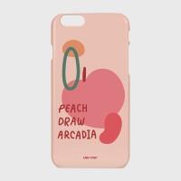 [어프어프] 하드/터프/슬라이드 Peach draw-pink