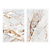 Miccudo 프린트-온 스티커 (2.Grey marble)