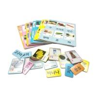 유아 자석 놀이 학습 교구 낱말카드 A세트 60p