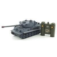 1/28 2.4GHz 타이거 탱크 (YAK161102GY) 배틀탱크 무선모형 RC