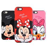 [DISNEY]디즈니 뽀뽀 실리콘 범퍼 케이스 - 아이폰6/S/6플러스