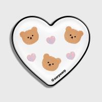 Dot love and bear-white(hearttoktok)
