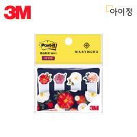 3M 포스트잇 플래그 670-MA2 동백 마리몬드 팩