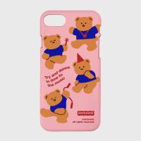 dancing bear-pink(color jelly)
