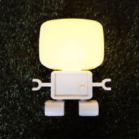 로봇 LED 라이트조명 (옐로우)
