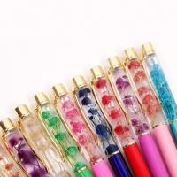 갓샵 꽃 하바리움 볼펜 10color 플라리움 디자인 펜