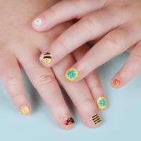 어린이 젤네일스티커 미니젤리카 꿀벌의 모험