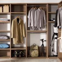 [보루네오 하우스] 아르메 로스팅 드레스룸 ㅡ자 1400 브라운