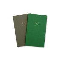 18 HALF DIARY set_green gray (날짜형)