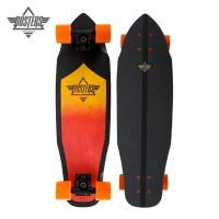 [DUSTERS] 28 GUST FIBERGLASS ORANGE FADE/BLACK PREMIUM CRUISER COMPLETE