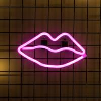 어반LED 네온 Kiss 입술 무드등