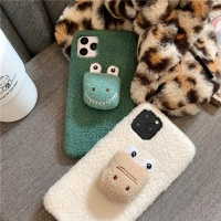아이폰 11 pro max xr xs 8 7 + 악어 양털 젤리케이스
